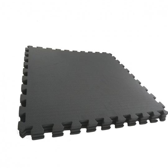 Podložka na cvičenie - Tatami Puzzle 4ks bal 60x60x1,2cm čierna