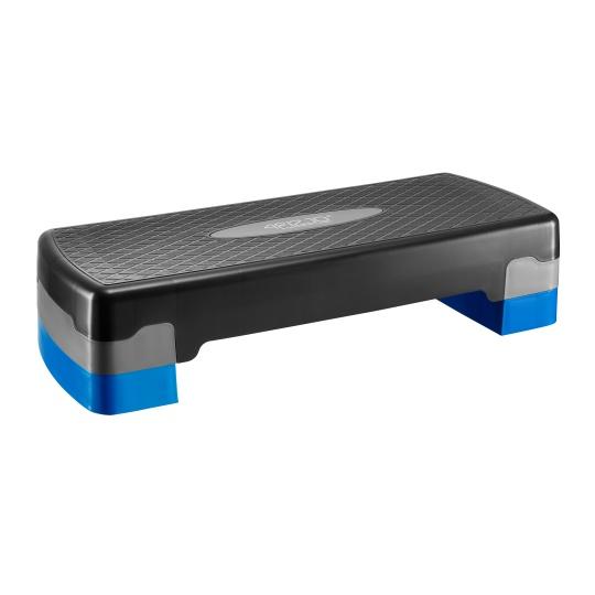 Aerobic step 4FIZJO 2-stupňový - modrý