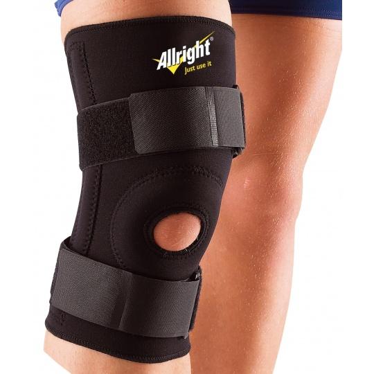 Bandáž na koleno Allright čierna neoprén suchý zips