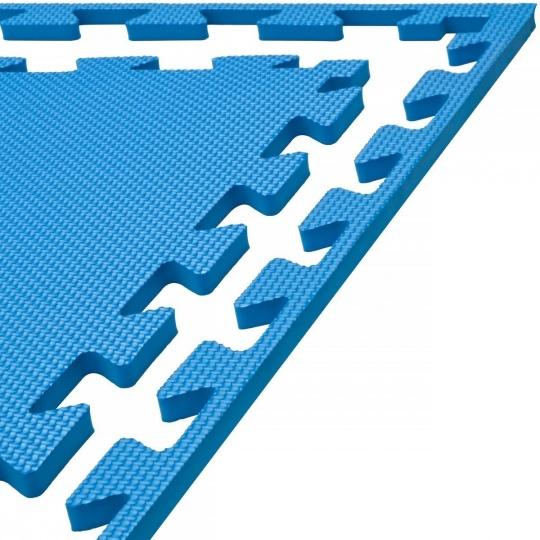 Tatami puzzle 100 x 100 x 1 cm modrá