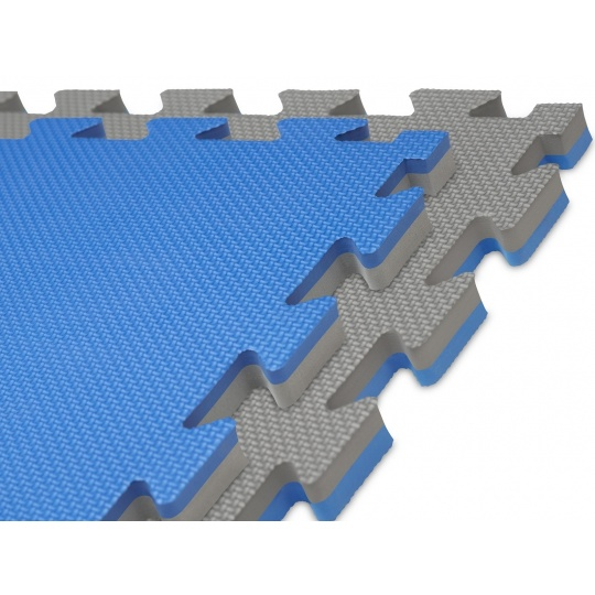 Tatami puzzle 100 x 100 x 2 cm modro-šedé