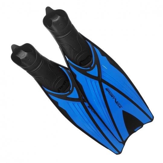 Potápěčské ploutve dlouhé modré