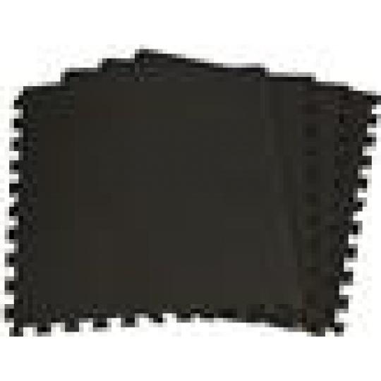 Podložka na cvičení ENR - Tatami Puzzle 4ks bal 60x60x1 cm, barva černá