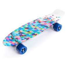 PENNYBOARD METEOR MULTIKOLOR GEOMETRIC