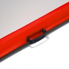 Airtrack nafukovací žiněnka 600 x 100 x 20 cm červená
