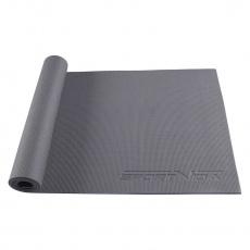 Podložka na cvičení jogy Sportvida 6 mm šedá