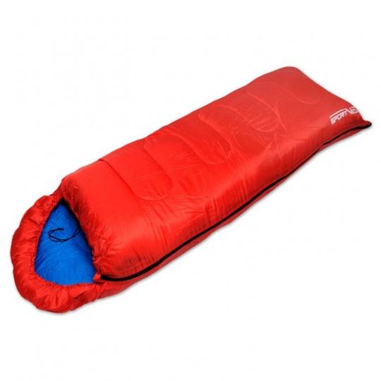 Spacák Sportvida 250g/m2 hollow fibre,  červený