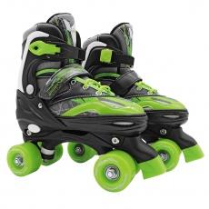 Trekové kolieskové korčule dvojradové Sportvida nastaviteľná veľkosť ( 35-38 )
