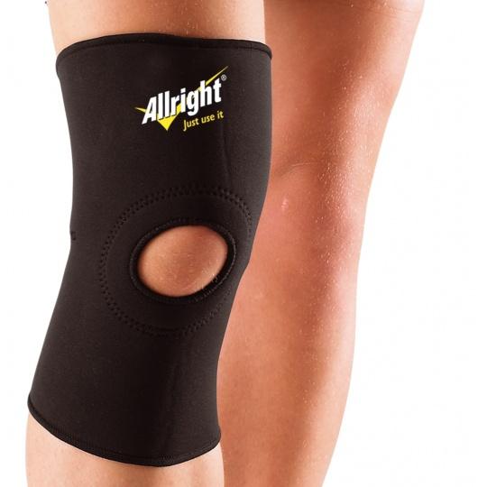 Bandáž na koleno Allright čierna neoprén