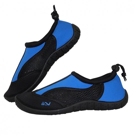 Topánky do vody Sportvida modro-čierne