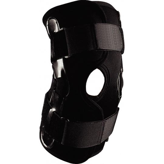Bandáž na koleno Allright černa se stabilizátorem