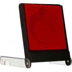 Pouzdro na medaili 5-7 cm červené