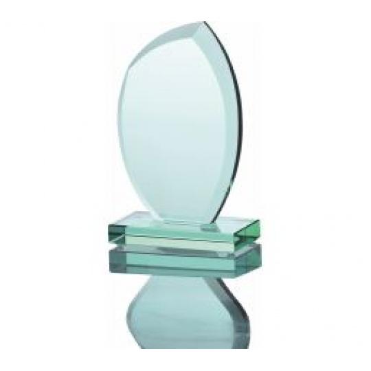 Skleněná trofej G010 s pouzdrem