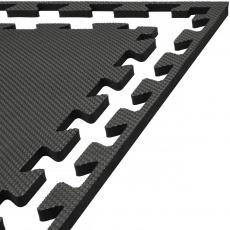 Tatami puzzle 100 x 100 x 1 cm černá