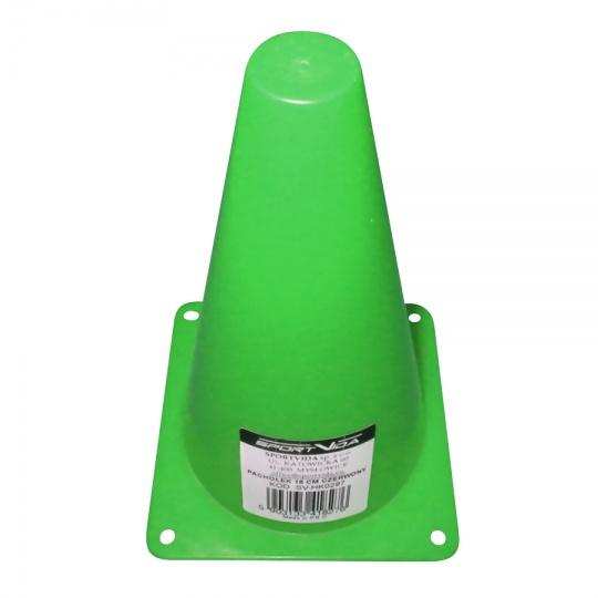Tréninkový kužel 18 cm Sportvida zelený
