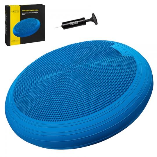 Balanční čočka 4FIZJO 60 cm modrá