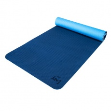 TPE Podložka na yogu EASY YOGA modrá 6mm
