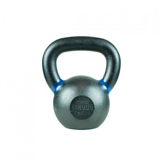 Kettlbebell kovový PROUD 12 kg