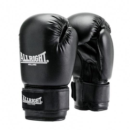 Boxerské rukavice Allright Holland TRAINING 12 oz čierne