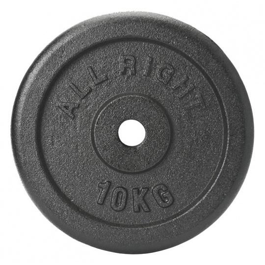 Liatinový kotúč Allright 15 kg priemer 28 mm