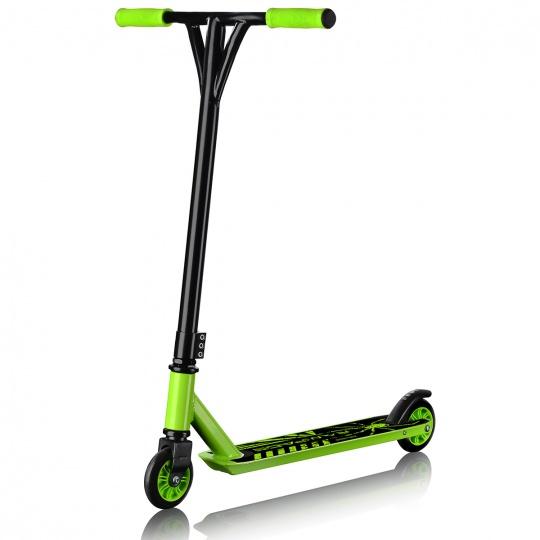 Koloběžka freestylová Sportvida STUNT B zelená
