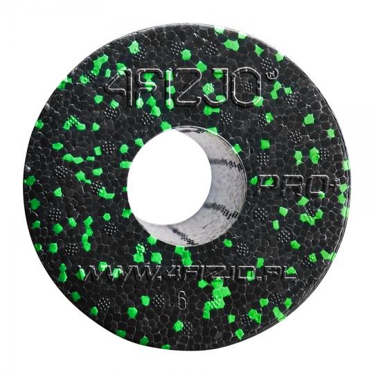 Masážny valec 4FIZJO EPP hladký 33 cm čierno-zelený