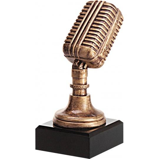 Odlévaná figurka mikrofón
