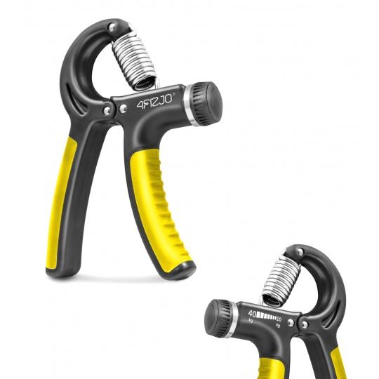Posilovač zápästia regulovateľný 4Fizjo žlto-čierný