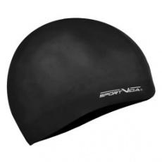 Černá plavecká čepice