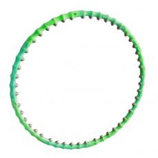 Hula Hoop 90 cm masážny zelený