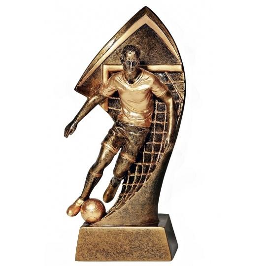 Odlévaná figurka fotbal
