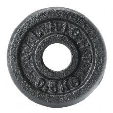 Liatinový kotúč Allright 0,5 kg priemer 28 mm