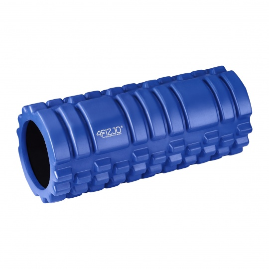 Masažní válec 4Fizjo 33 x 14 cm modrý