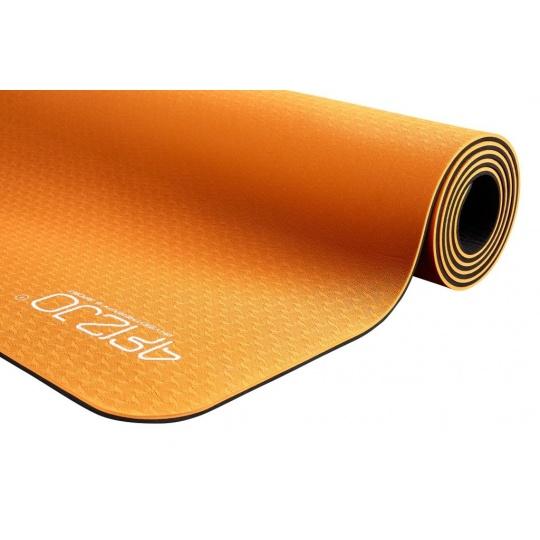 Jóga podložka TPE 4FIZJO oranžová 183 x 61 x 0,6 cm