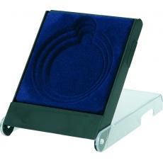 Púzdro na medailu 5 - 7 cm modré