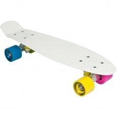 Penny board ENERO bielý