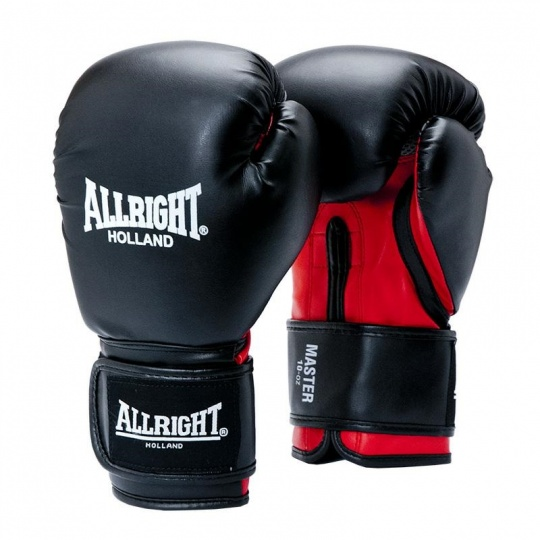 Boxerské rukavice Allright Holland 10 oz černé