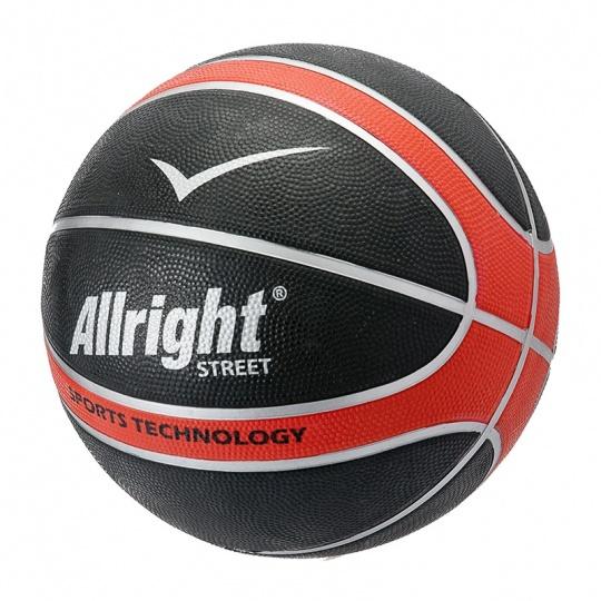 Basketbalová lopta ALLRIGHT STREET RED 7