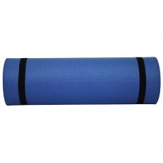 Karimatka dvojvrstvová XPE Sportvida 180x50x1.0 cm modro-čierna