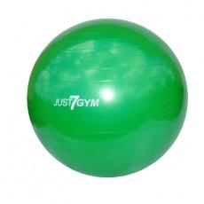 Fitness lopta Just7gym 65cm zelená s pumpou