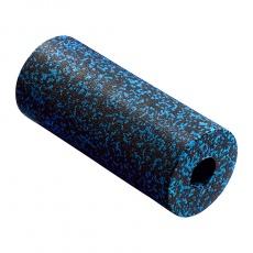 Masážny valec 4FIZJO EPP hladký 33 cm čierno-modrý