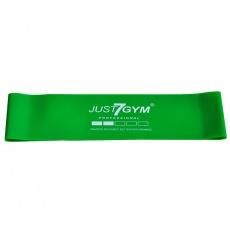 Mini band Just7Gym  61x7,62x0,08 cm zelený