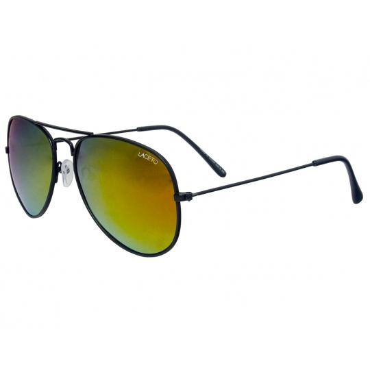 Polarizačné slnečné okuliare Laceto PILOT BLACK