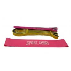 Set 2+1 ks expandrerov na cvičenie Power Band + Mini Band Sportvida Women