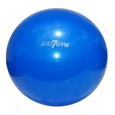 Fitness míč Just7gym 75cm modrý s pumpou