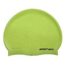 Zelená plavecká čepice