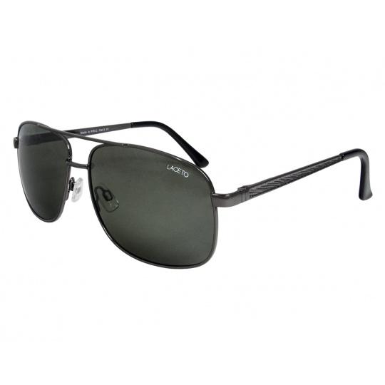 Polarizačné slnečné okuliare Laceto VINCENT BLACK