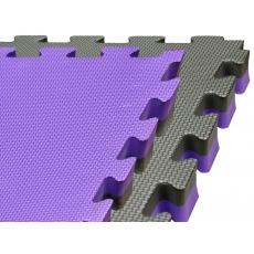 Tatami puzzle 100 x 100 x 2 cm fialovo-šedé