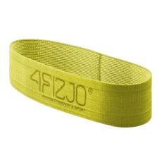 Textilný Flex Band 4FIZJO žltý odpor 23 - 29  kg