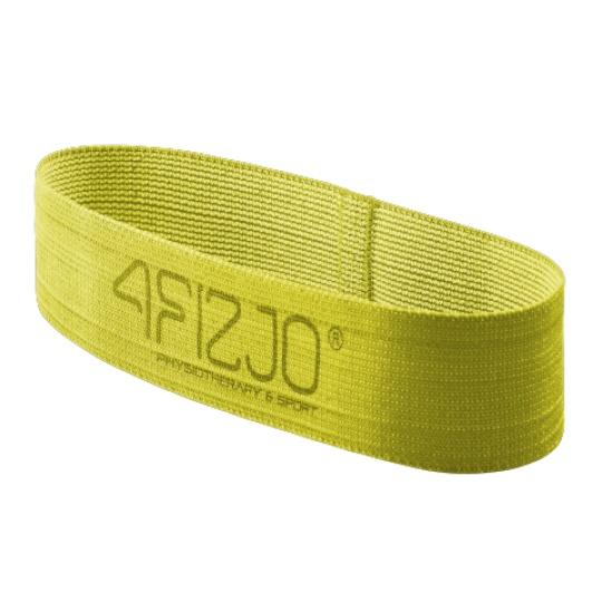 Textilní Flex Band 4FIZJO žlutý odpor 23 - 29  kg